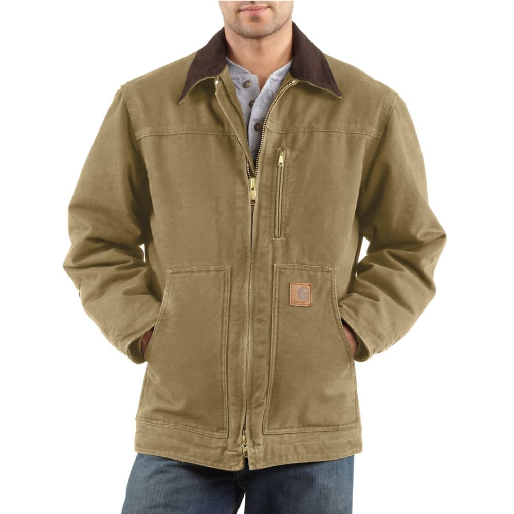CARHARTT Men's Sandstone Ridge Coat - FRONTIER BROWN