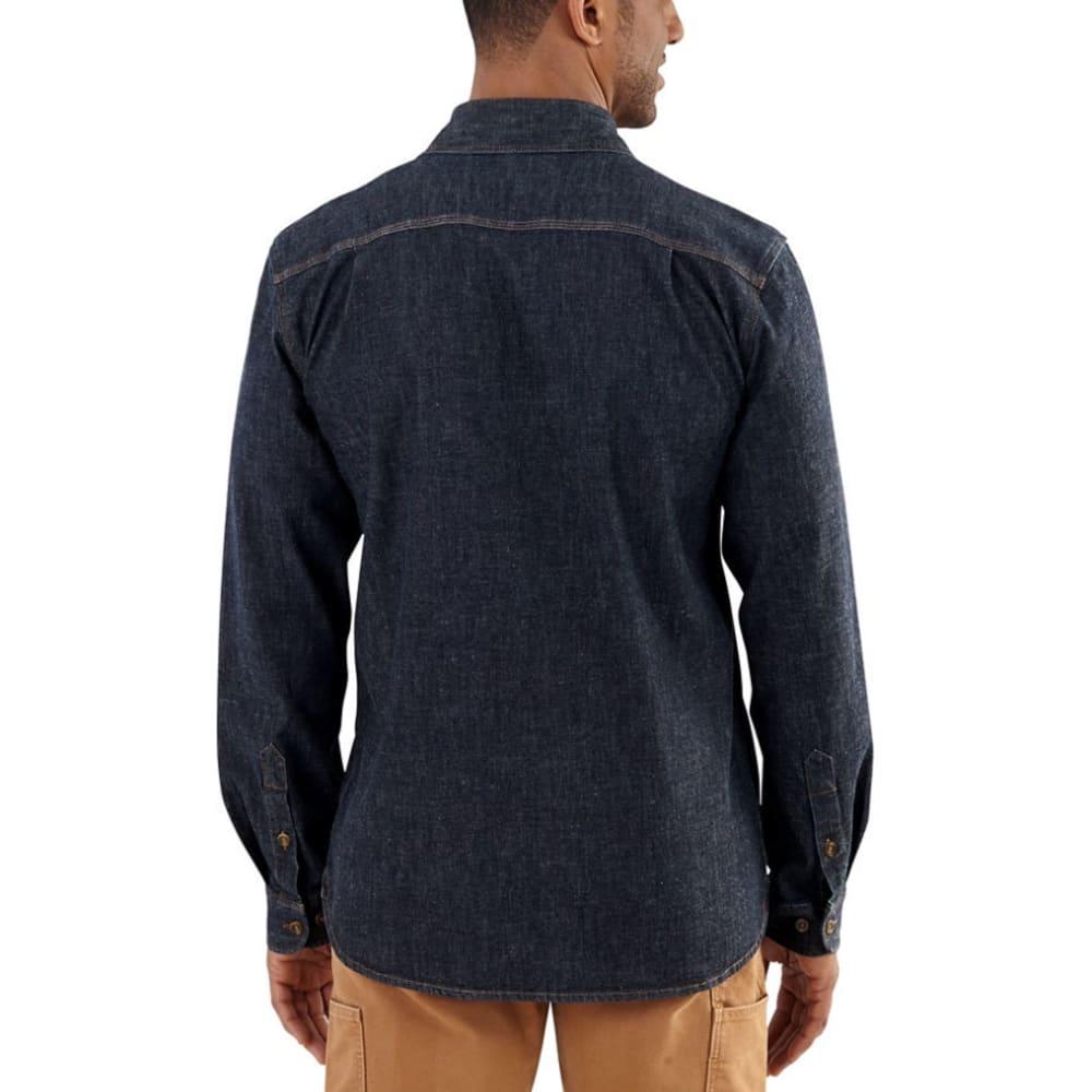 76afb29cd08 CARHARTT Men s Rugged Flex Pattern Denim Shirt - Eastern Mountain Sports