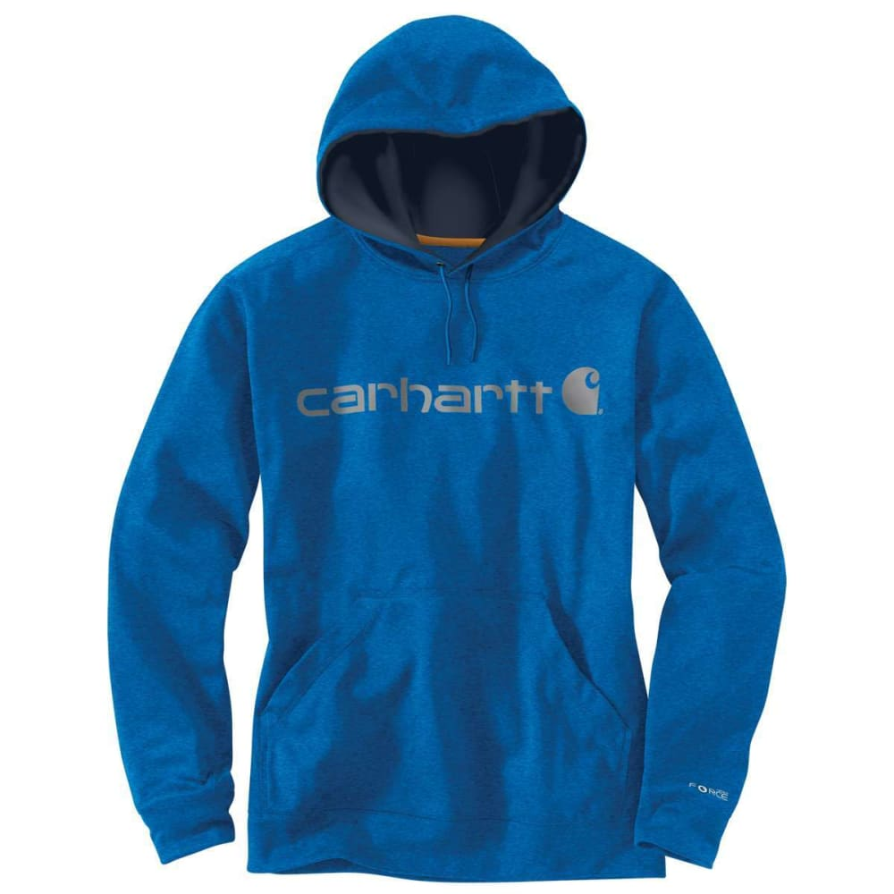 CARHARTT Men's Force Extremes Hoodie - 478 HURON HEATHBLUE