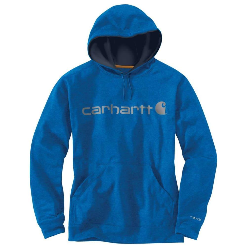 CARHARTT Men's Force Extremes Hoodie - 478 HURON HEATHBLUE
