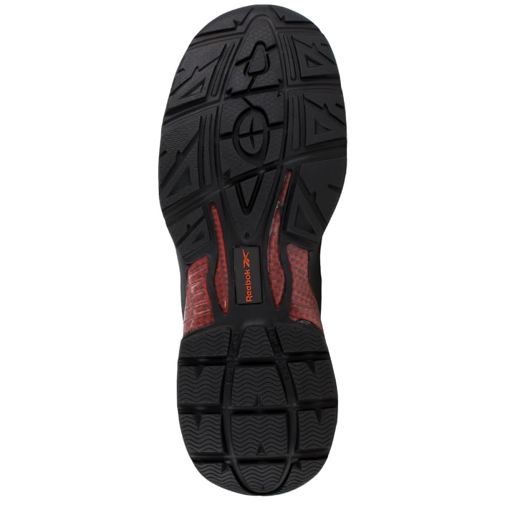 REEBOK WORK Men's Beamer Shoes, Wide - BLACK/RED