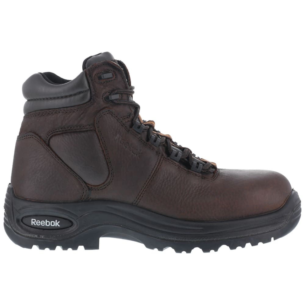 "REEBOK WORK Men's Trainex Composite Toe 6"" Work Boots, Medium Width - DARK BROWN"