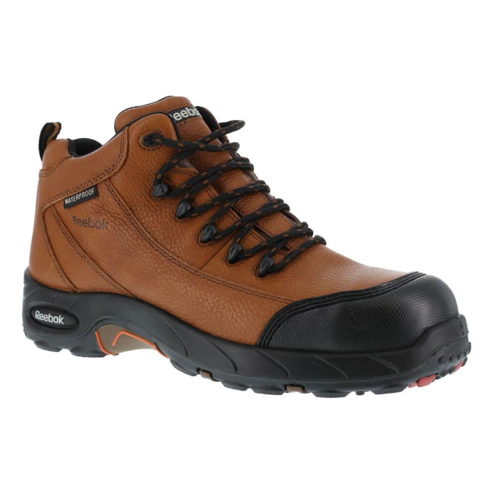 REEBOK WORK Men's Tiahawk Hiker Boots, Wide - BROWN