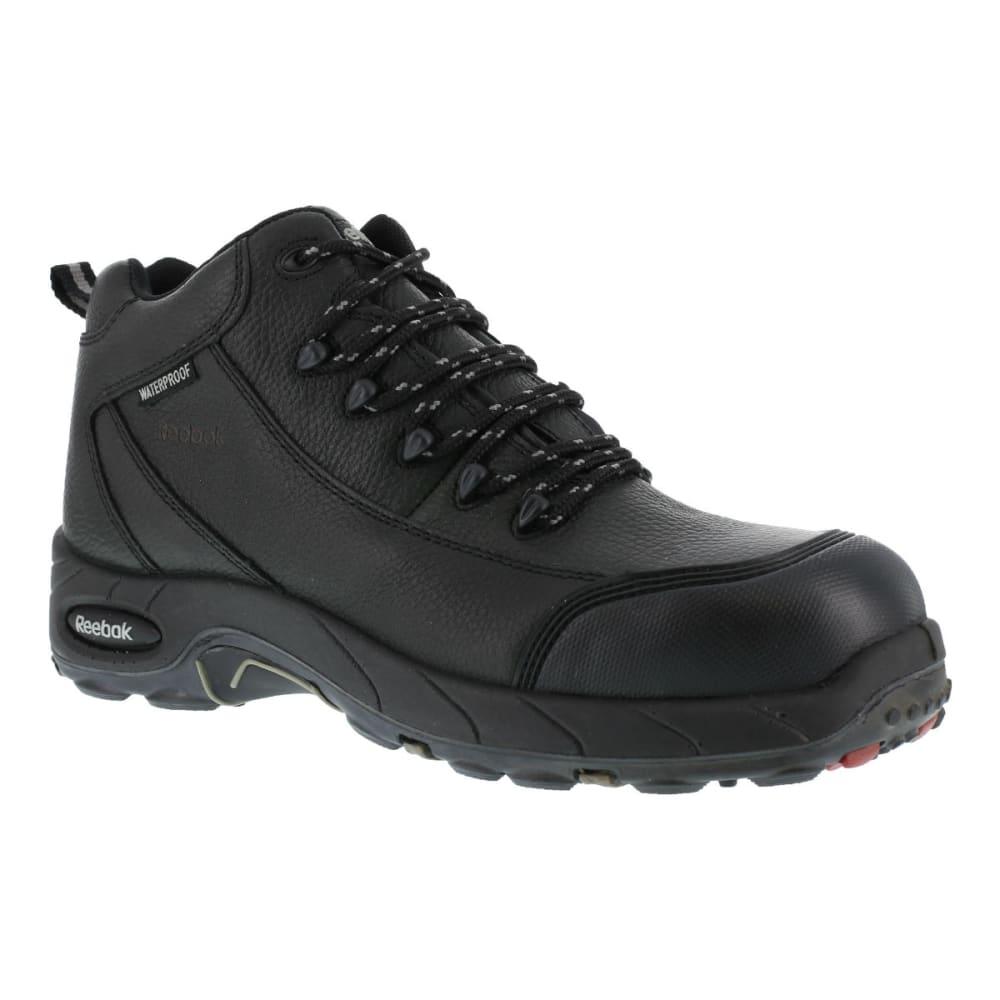 REEBOK WORK Men's Tiahawk Hiker Boots, Wide - BLACK