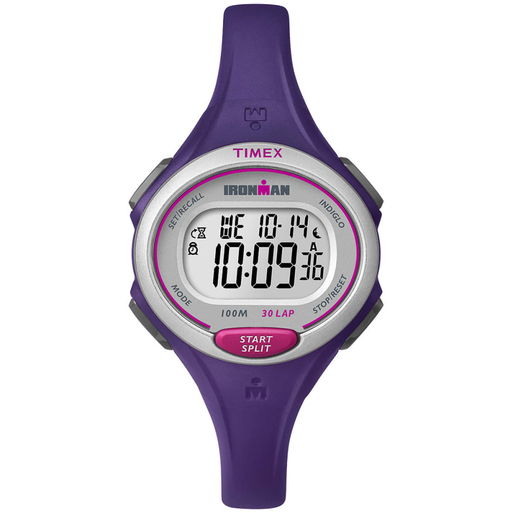 Timex Ironman Essential 30 Mid-Size Stopwatch - Purple TW5K90100E4