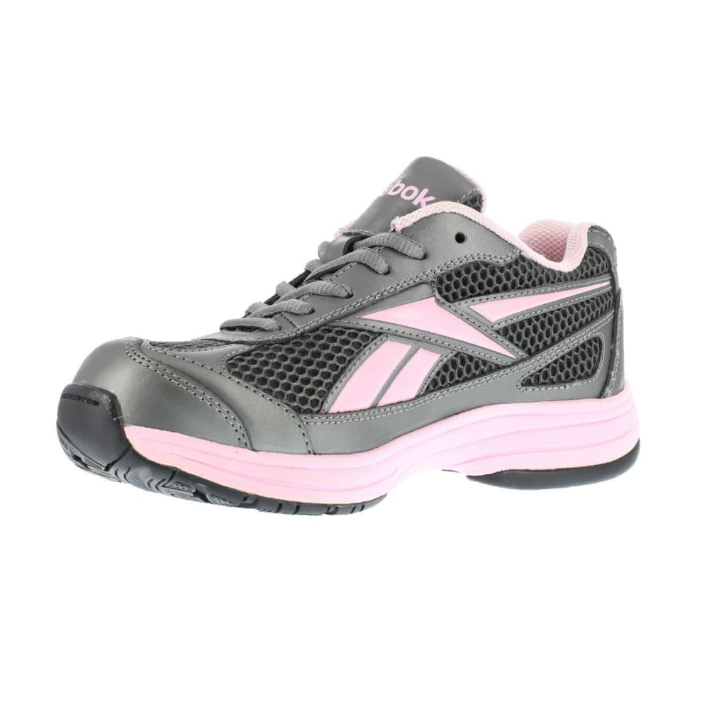 REEBOK WORK Women's Ketee Shoes - PEWTER W PINL TRIM