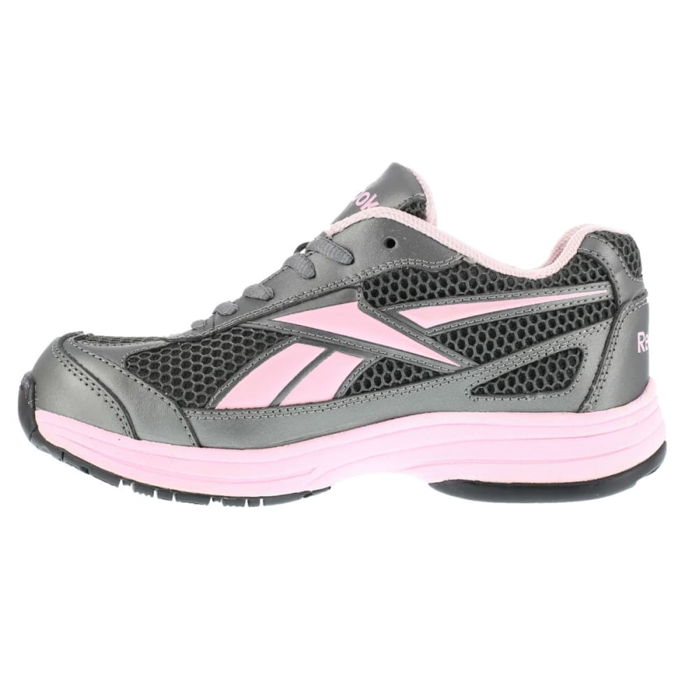 REEBOK WORK Women's Ketee Shoes - PEWTER W PINL TRIM