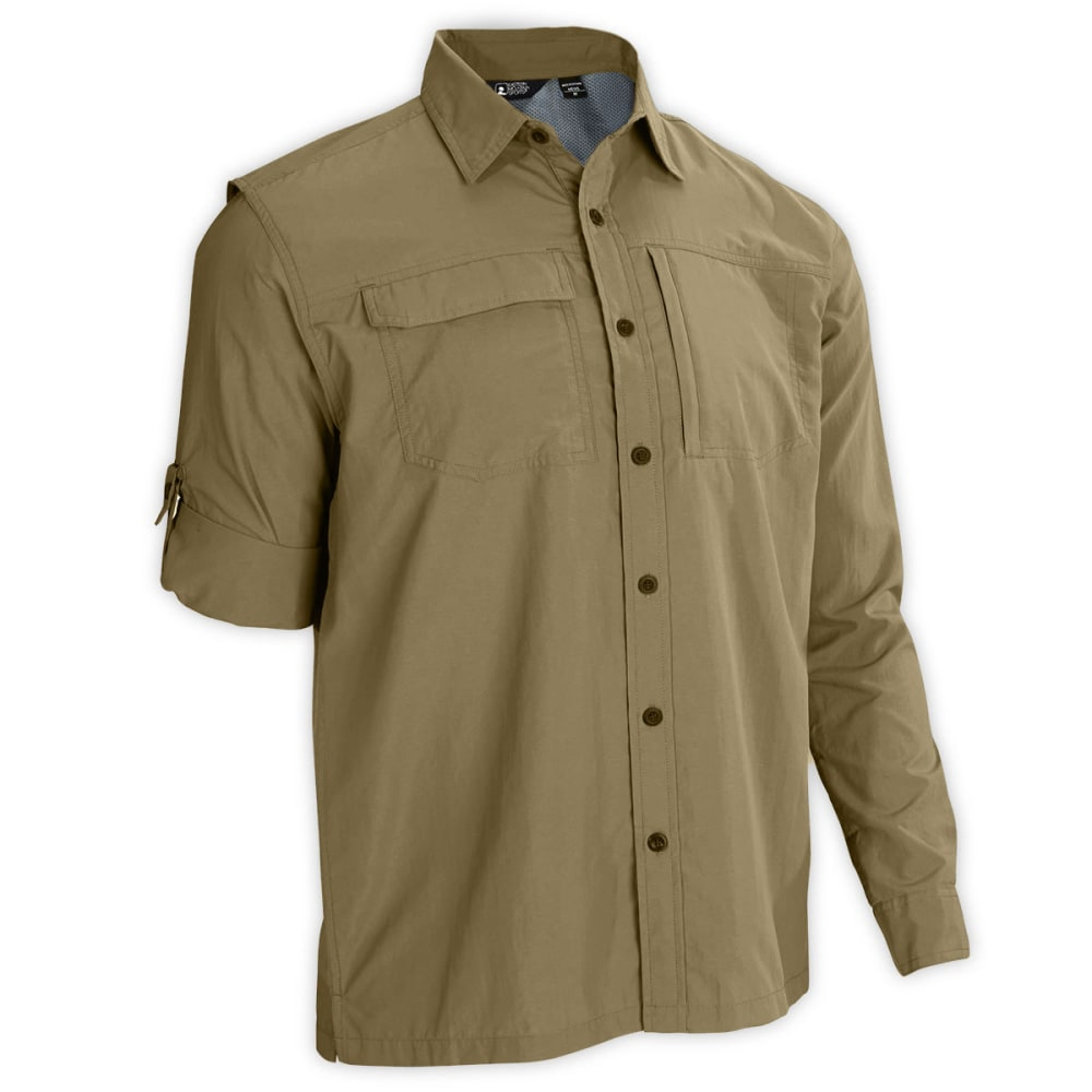 EMS Men's Trailhead UPF Long-Sleeve Shirt - KELP