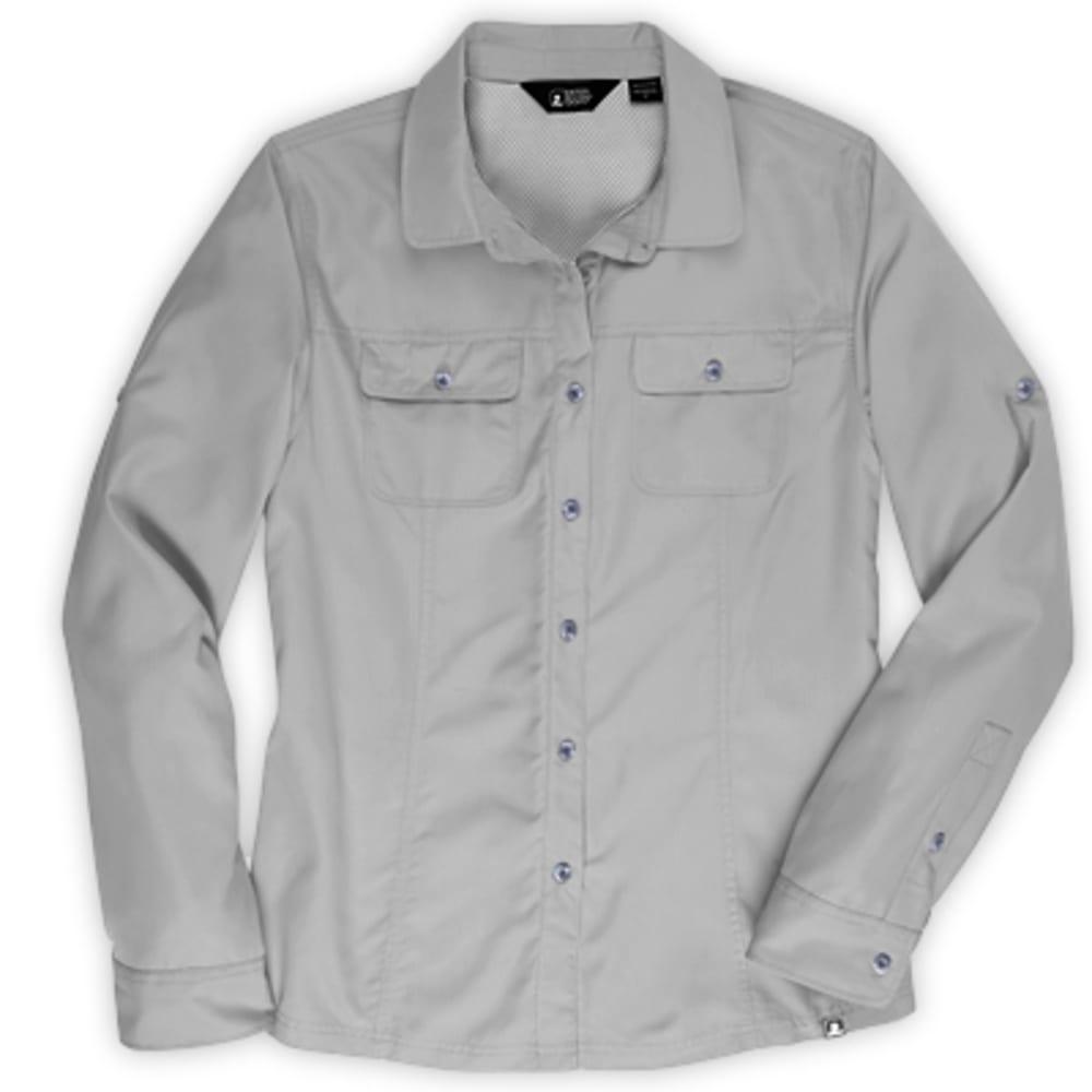 EMS® Women's Compass UPF Long-Sleeve Shirt - NEUTRAL GREY