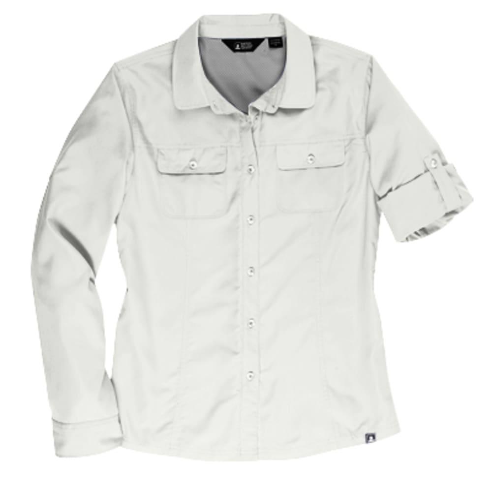 EMS® Women's Compass UPF Long-Sleeve Shirt - SNOW WHITE