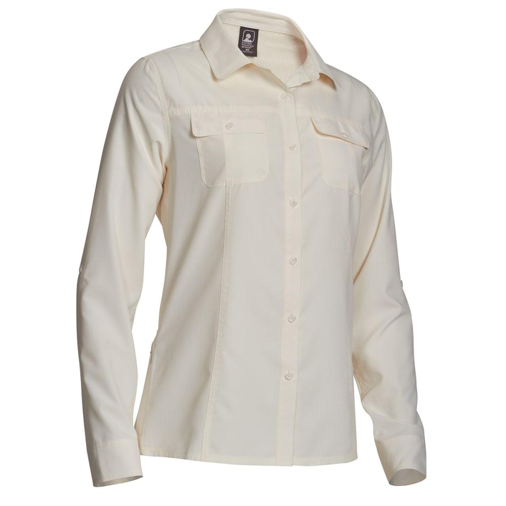 EMS Women's Compass UPF Long-Sleeve Shirt - COCONUT MILK