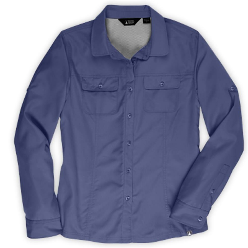 EMS Women's Compass UPF Long-Sleeve Shirt - CROWN BLUE