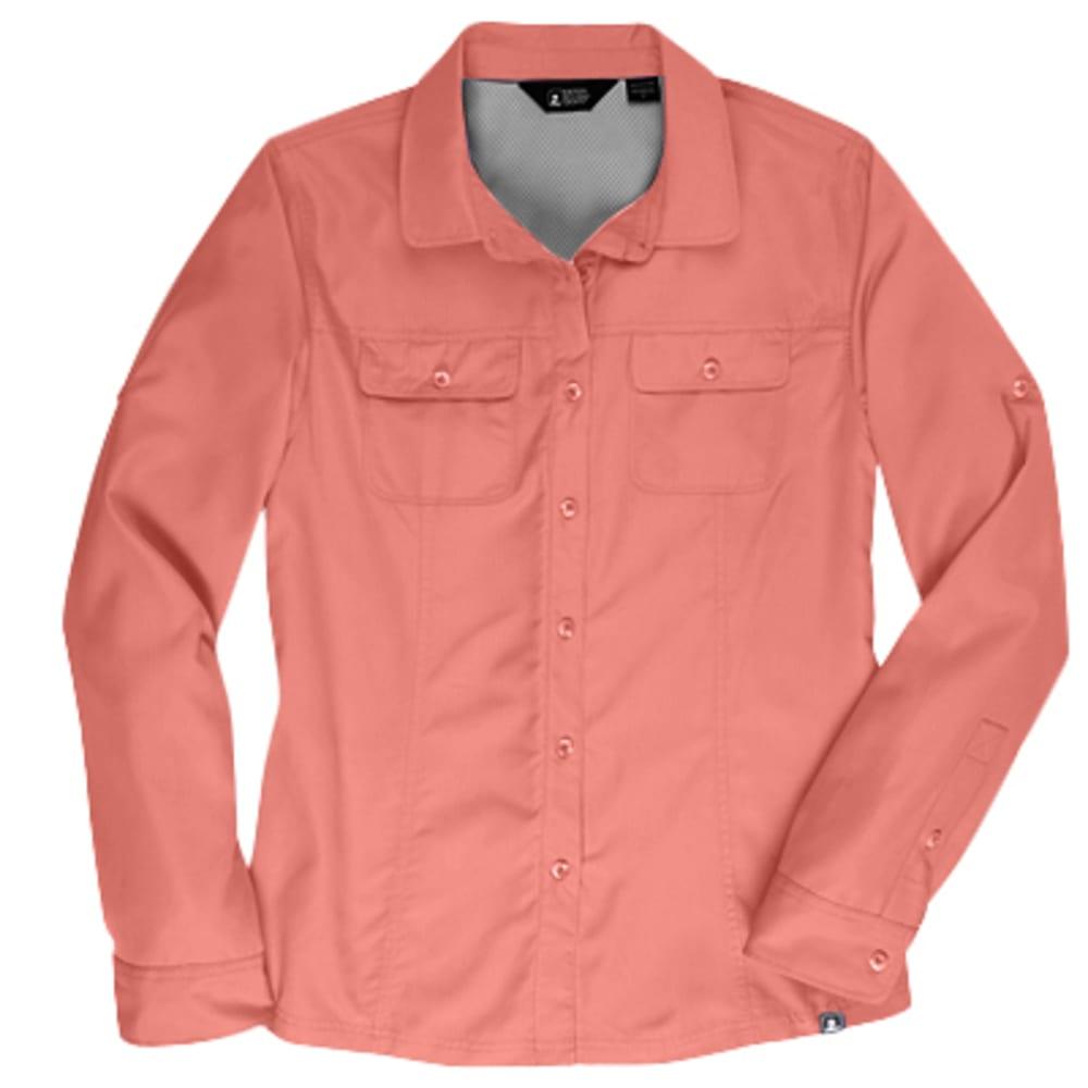 EMS Women's Compass Upf Long-Sleeve Shirt - White - Size S S15W0004