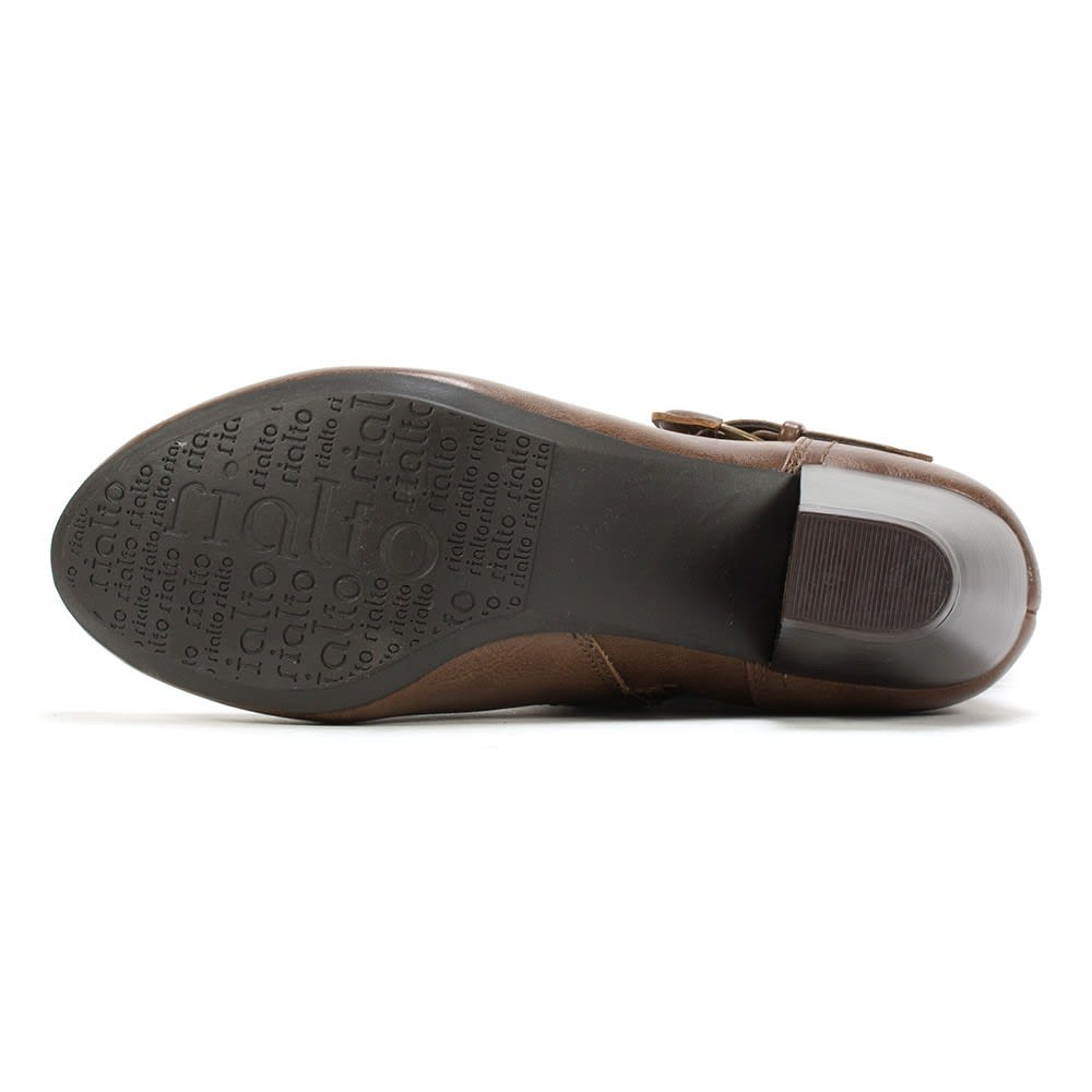 RIALTO Women's Coras Buckle Boots - TOBACCO