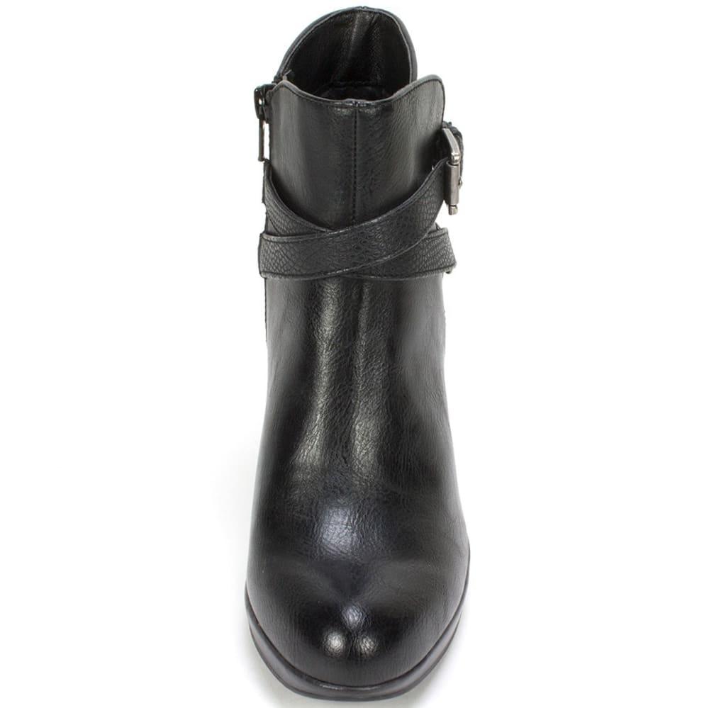 RIALTO Women's Pamela Strappy Heel Boots - BLACK