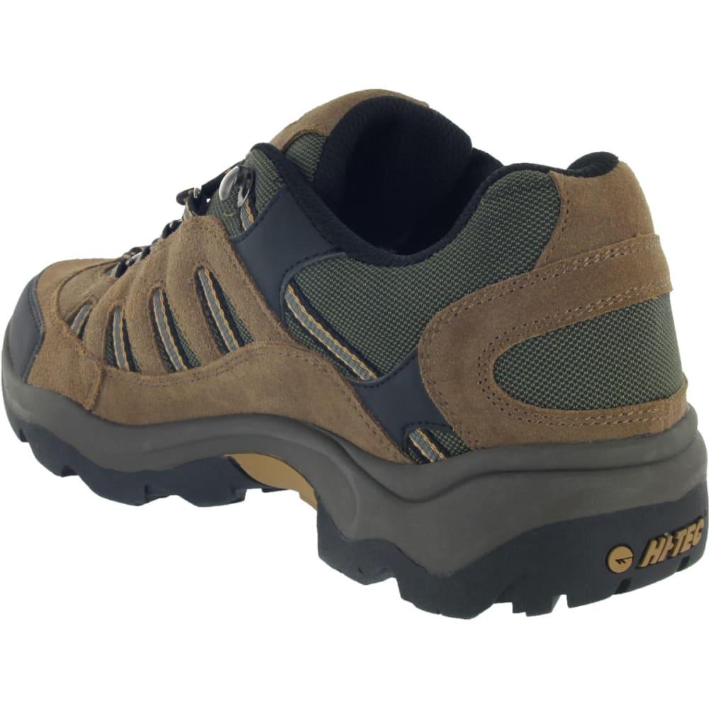 HI-TEC Men's Bandera Low WP Hiking Shoes - BONE/BROWN/MUSTARD