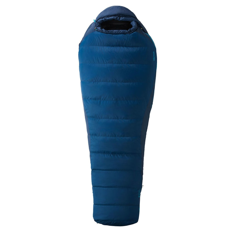 MARMOT Scandium Sleeping Bag - VTG NVY/DK SAPPHIRE