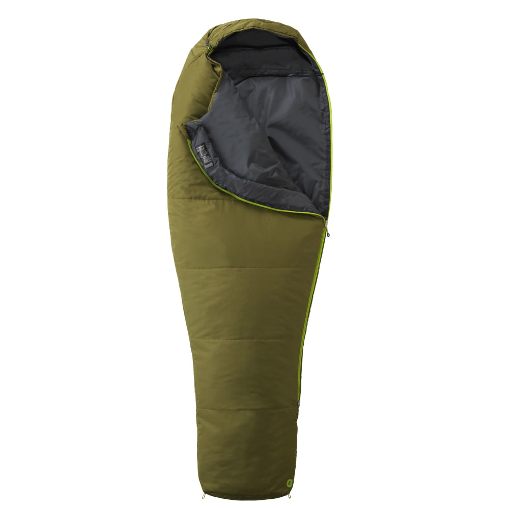 MARMOT NanoWave 35 Sleeping Bag, Long - MOSS