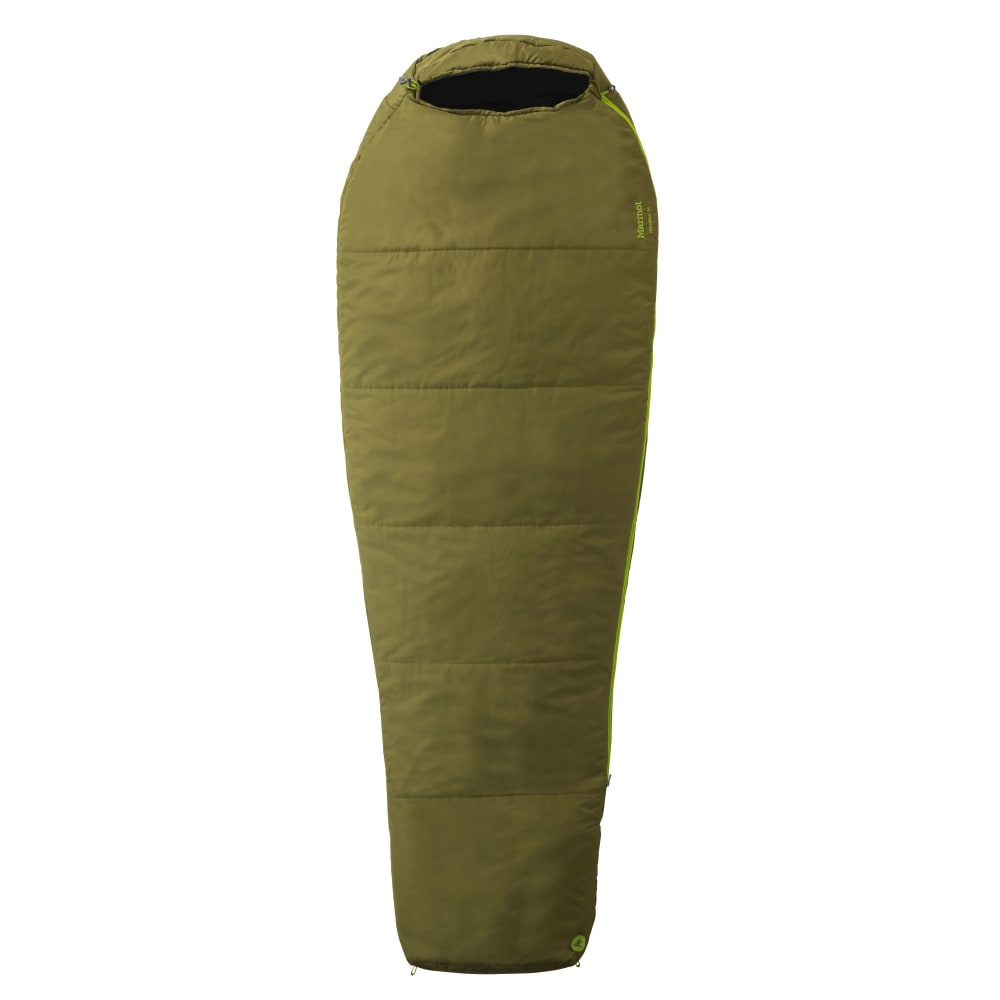 MARMOT NanoWave 35 Sleeping Bag, Long - MOSS