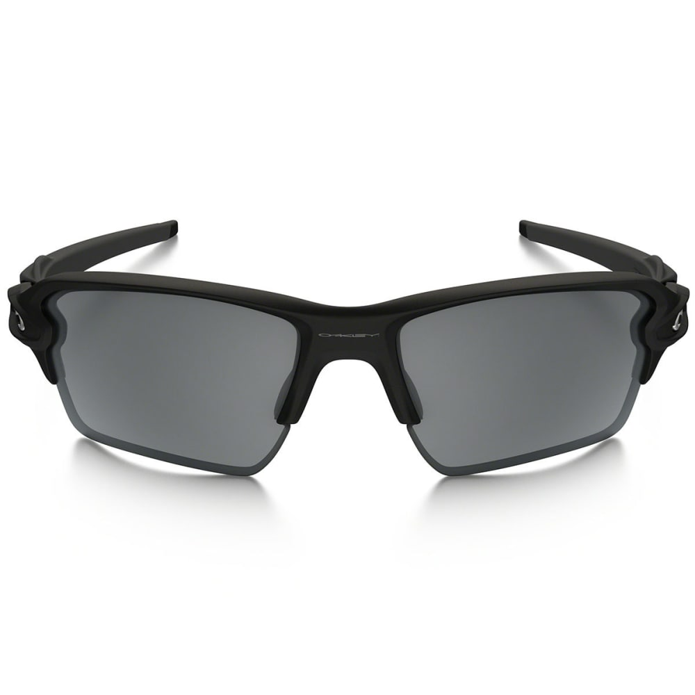 OAKLEY Flak™ 2.0 XL Sunglasses with Polarized Lenses - MATTE BLACK/BLACK