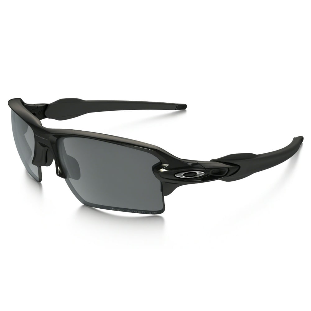 OAKLEY Flak 2.0 XL Polarized Sunglasses - POLISHED BLACK/BLACK