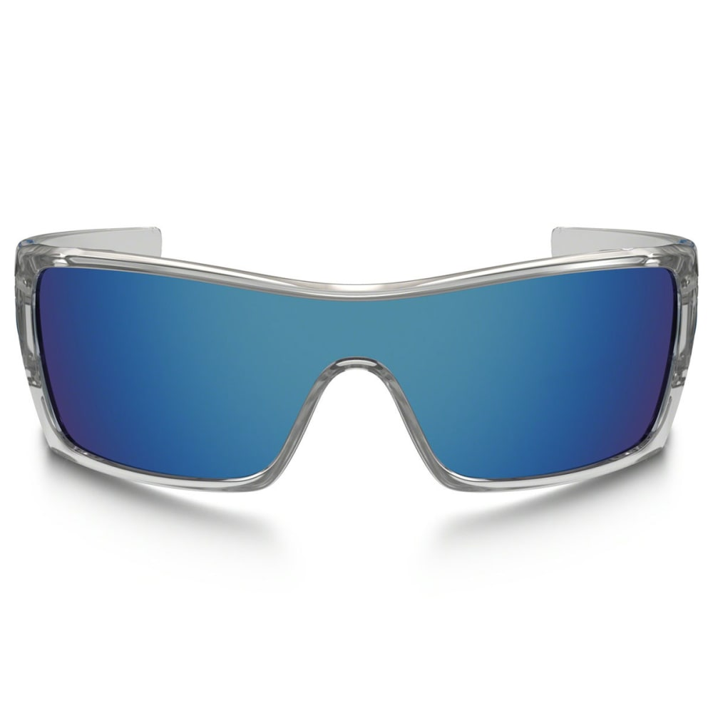 OAKLEY Batwolf Sunglasses, Polished Clear - CLEAR/ICE