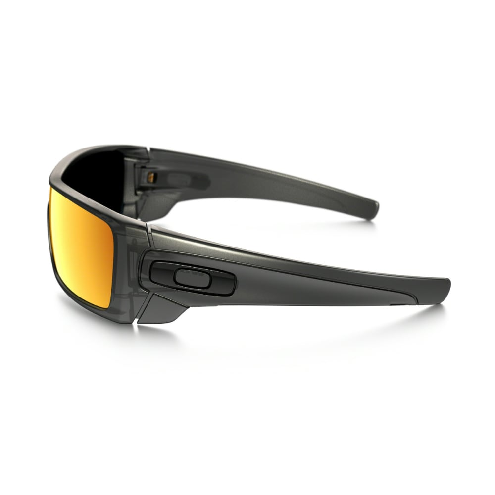 OAKLEY Men's Batwolf Sunglasses - MATTE BLACK/RUBY