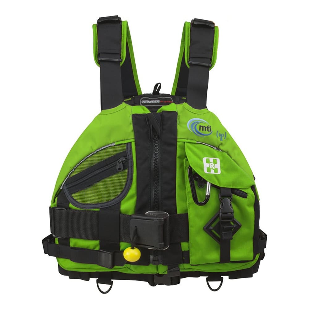 MTI Thunder R-Spec Rescue PFD - GREEN FLASH