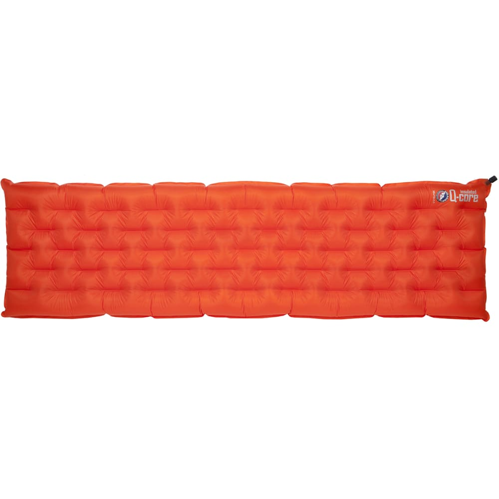 BIG AGNES Q-Core SuperLight Sleeping Pad - ORANGE/BLACK