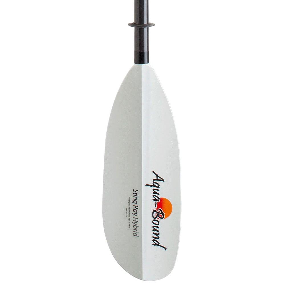 AQUA-BOUND Sting Ray Hybrid Kayak Paddle, 2-Piece, Posi-Lok - NO COLOR
