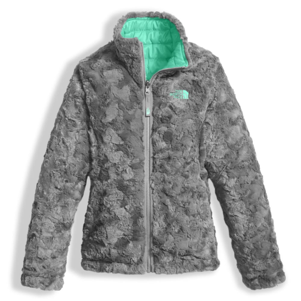 THE NORTH FACE Girls  39  Reversible Mossbud Swirl Jacket - RWW-BERMUDA  GREEN b56aaa824