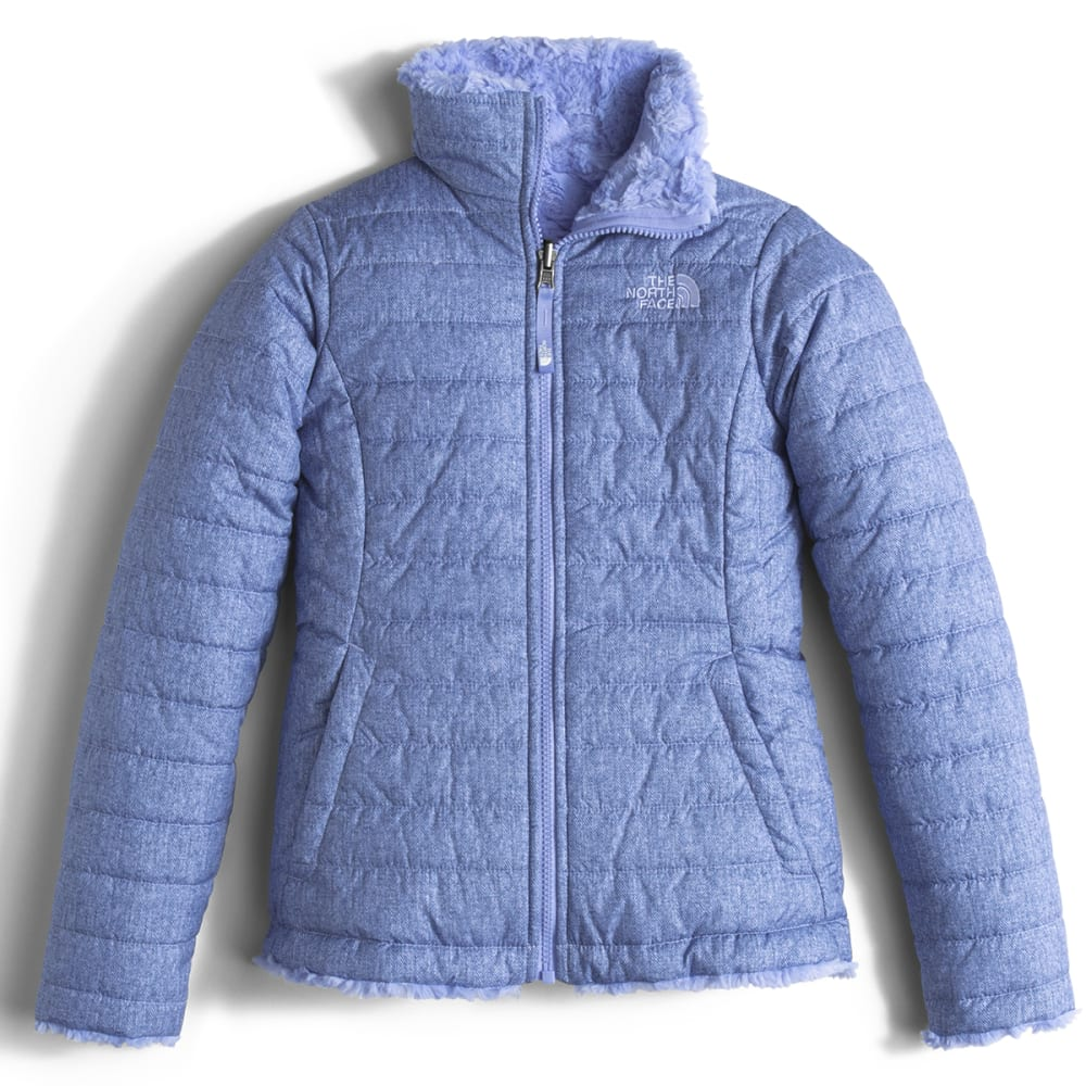 THE NORTH FACE Girls' Reversible Mossbud Swirl Jacket XS