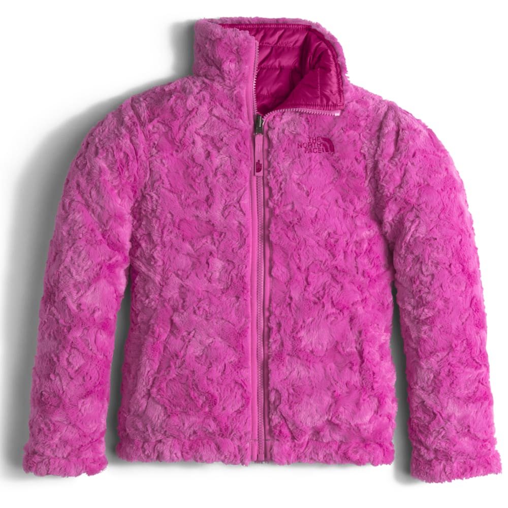 THE NORTH FACE Girls' Reversible Mossbud Swirl Jacket - JD8-ROXBURY PINK