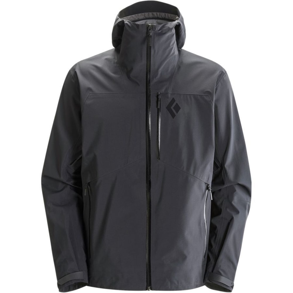 BLACK DIAMOND Men's Sharp End Shell Jacket - BLACK