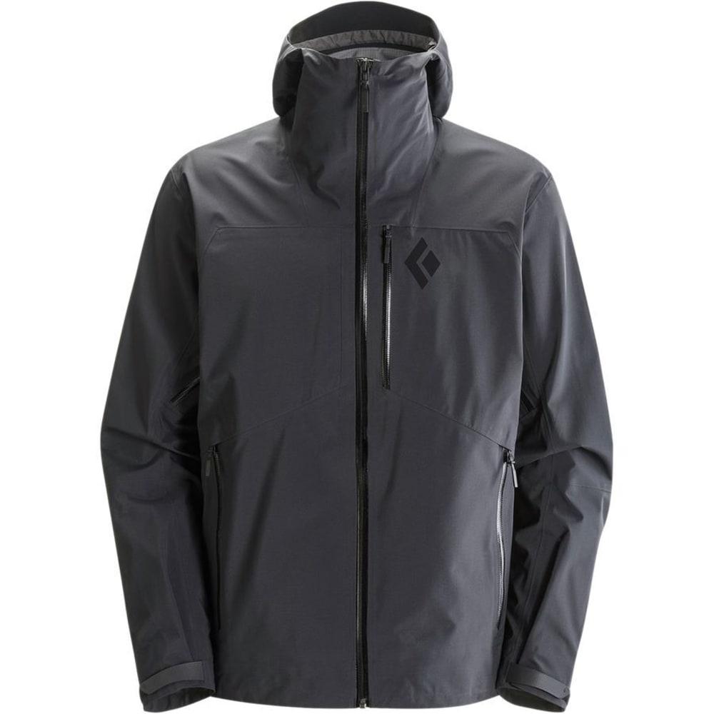 BLACK DIAMOND Men's Sharp End Shell Jacket - BLACK