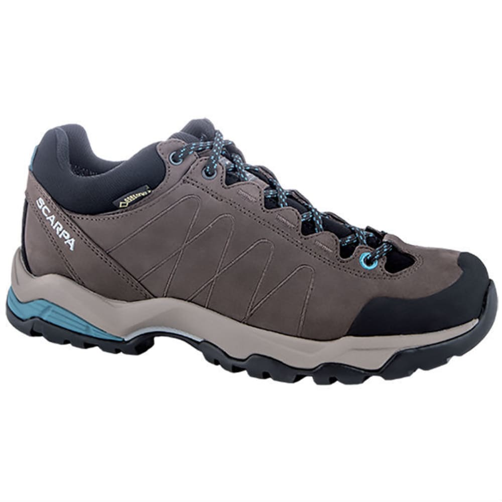 Scarpa Womens Moraine Gtx Waterproof Hiking Shoes - Black 63081/202