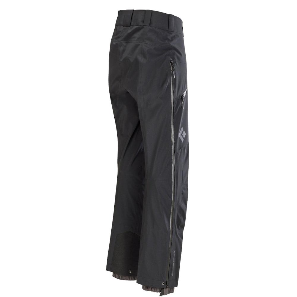 BLACK DIAMOND Men's Sharp End Shell Pants - BLACK