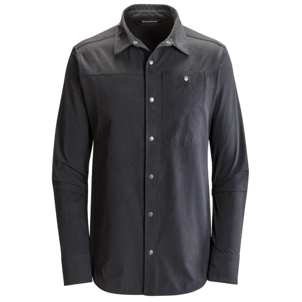 BLACK DIAMOND Men's Modern Rock Shirt - SMOKE