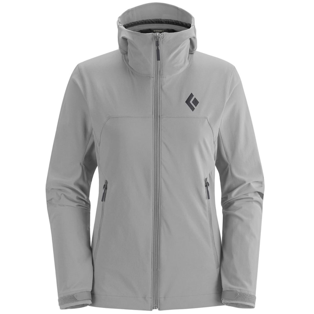 BLACK DIAMOND Women's Dawn Patrol Shell Jacket - ALUMINUM