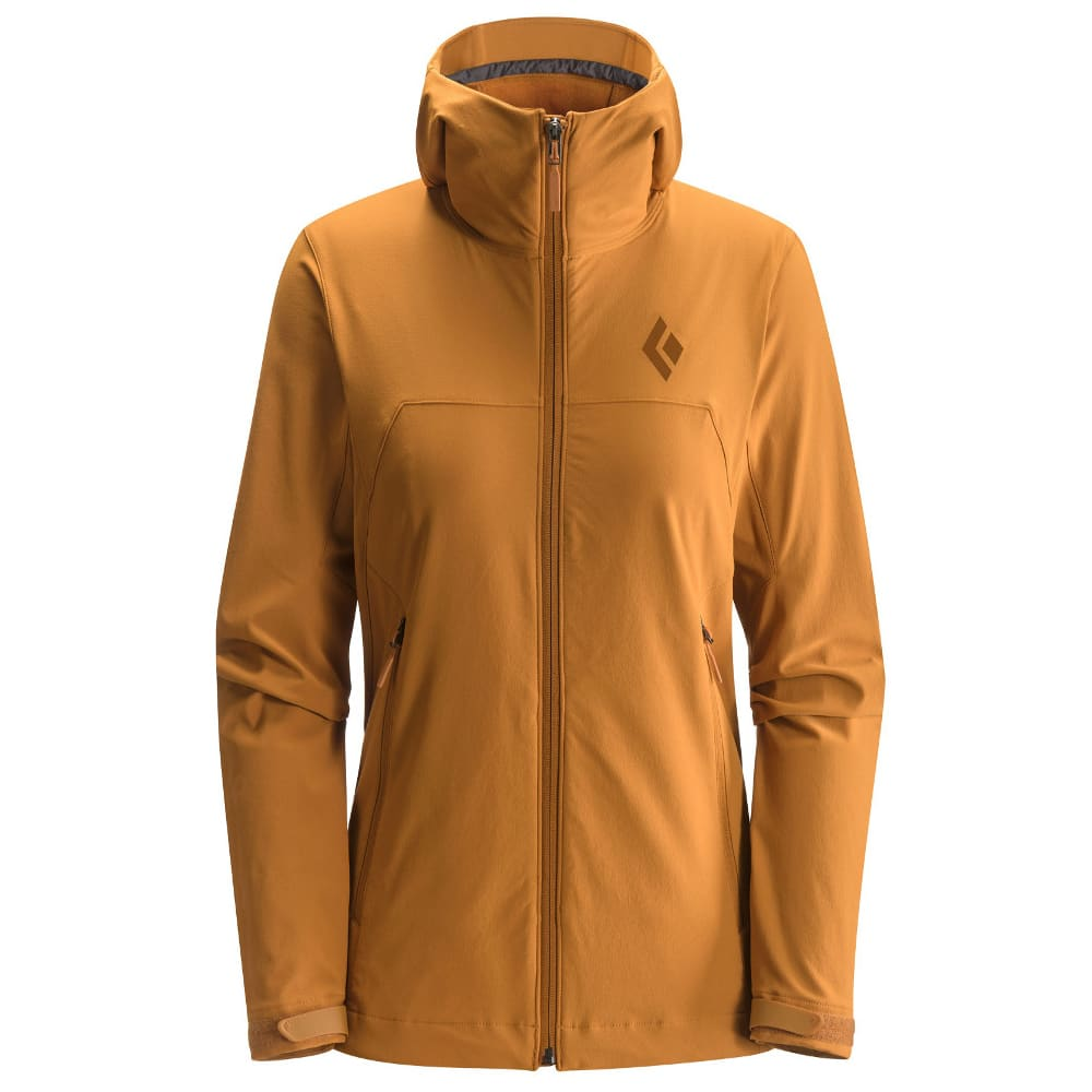 BLACK DIAMOND Women's Dawn Patrol Shell Jacket - COPPER