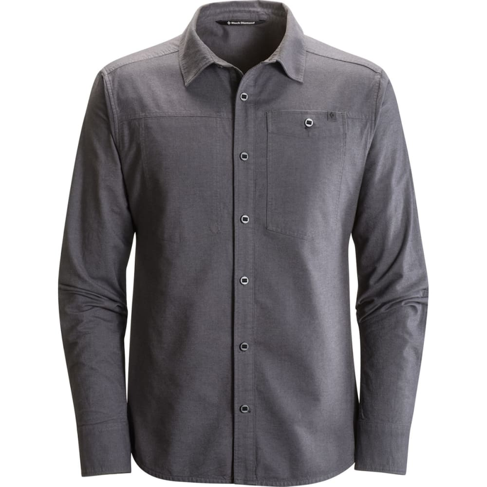 BLACK DIAMOND Men's Long-Sleeve Chambray Modernist Shirt - SMOKE
