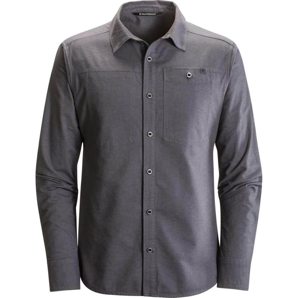 BLACK DIAMOND Men's Long-Sleeve Chambray Modernist Shirt - SMOKE