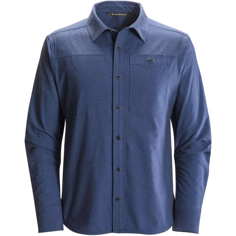 BLACK DIAMOND Men's Long-Sleeve Chambray Modernist Shirt - DENIM