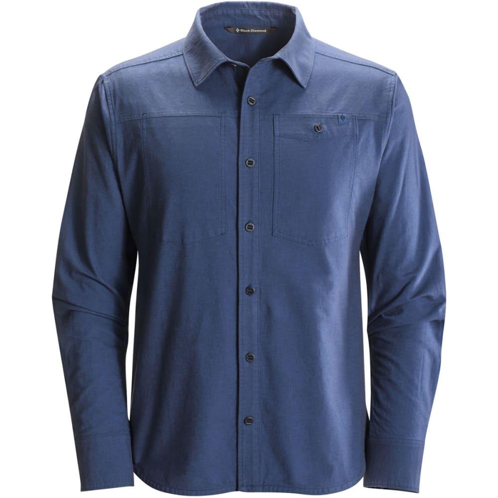 BLACK DIAMOND Men's Long-Sleeve Chambray Modernist Shirt - DENIM