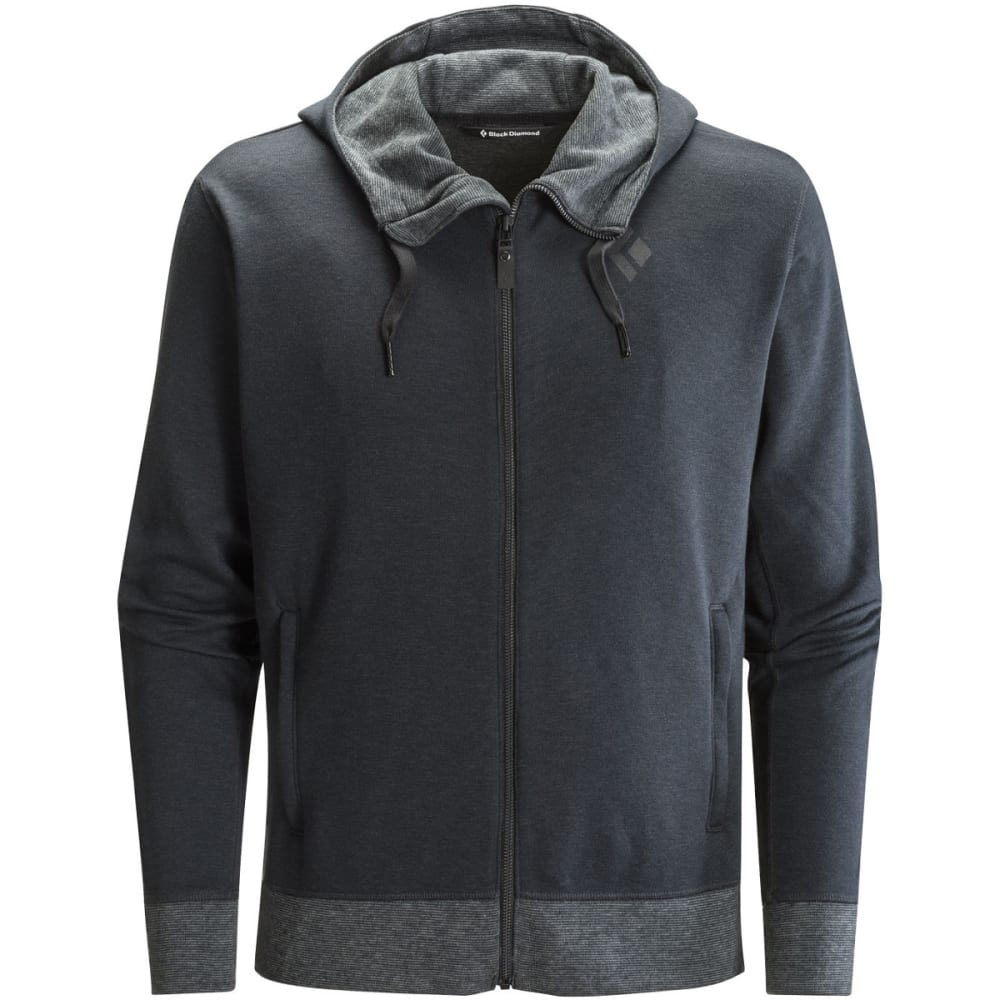 BLACK DIAMOND Men's Boulder Hoody - BLACK