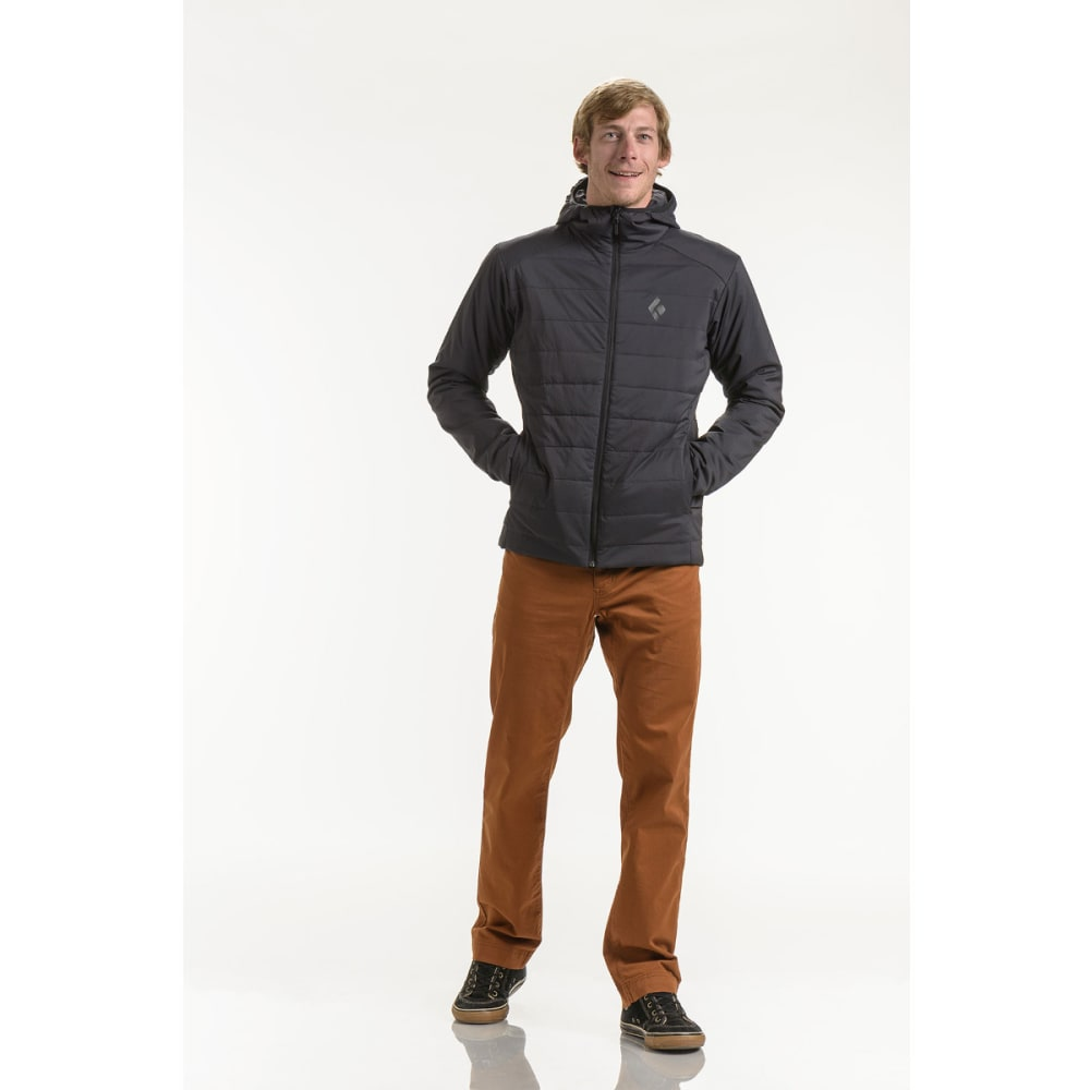 BLACK DIAMOND Men's First Light Hoody - SMOKE
