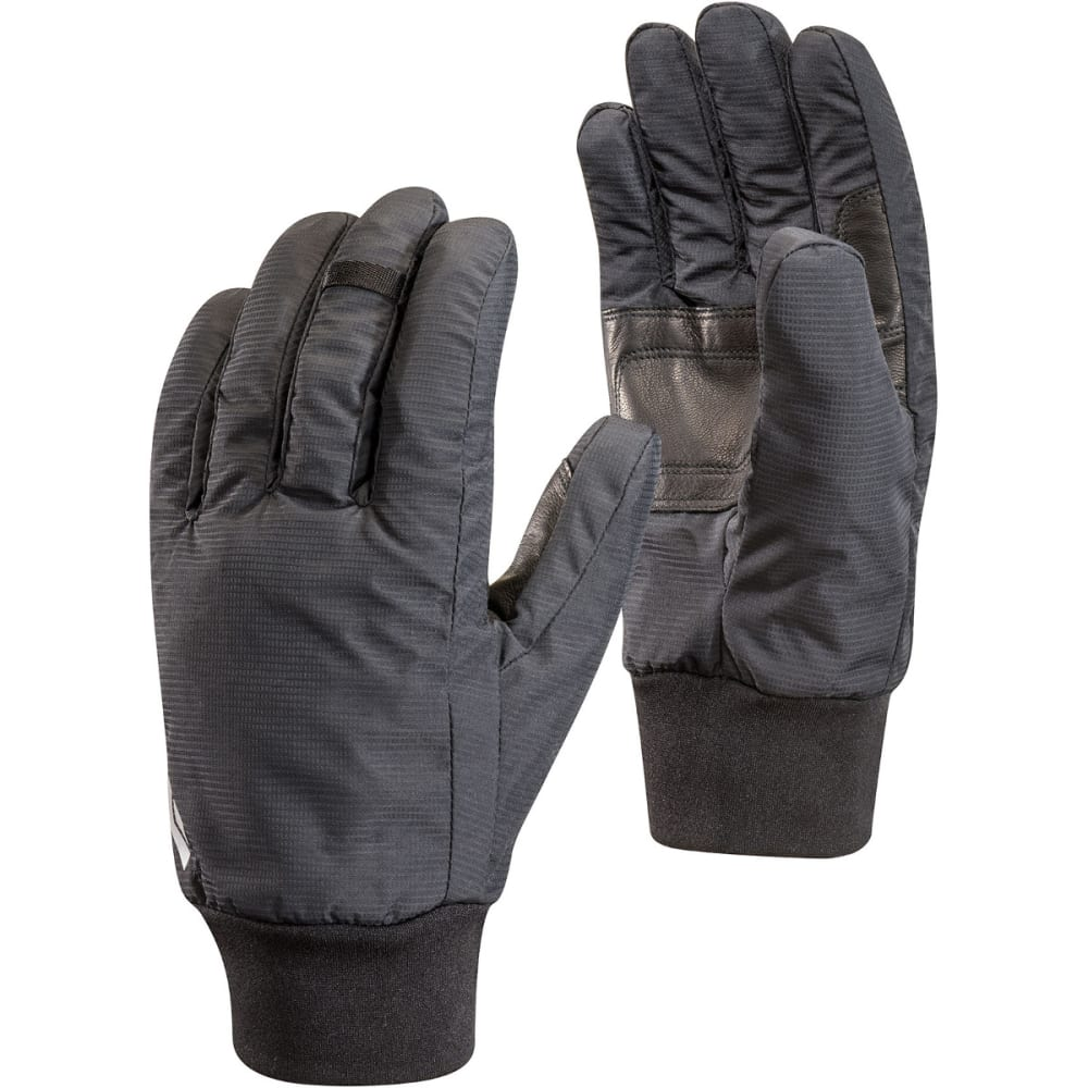 BLACK DIAMOND Lightweight Waterproof Gloves - BLACK