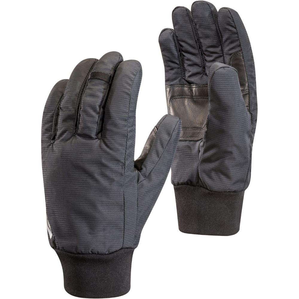 BLACK DIAMOND Lightweight Waterproof Gloves - BLACK