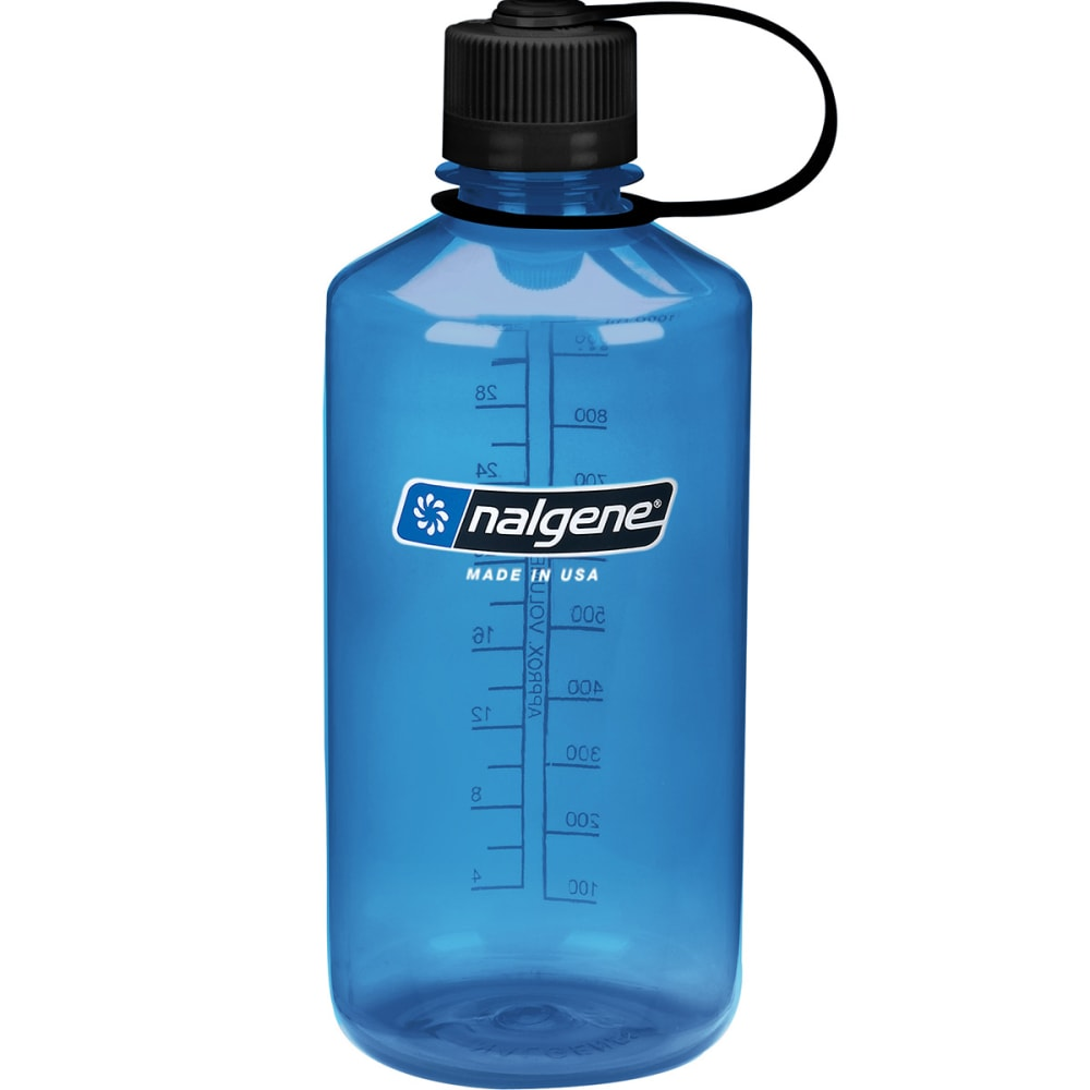 NALGENE Everyday Narrow Mouth Water Bottle, 1 Quart - SLATE BLUE