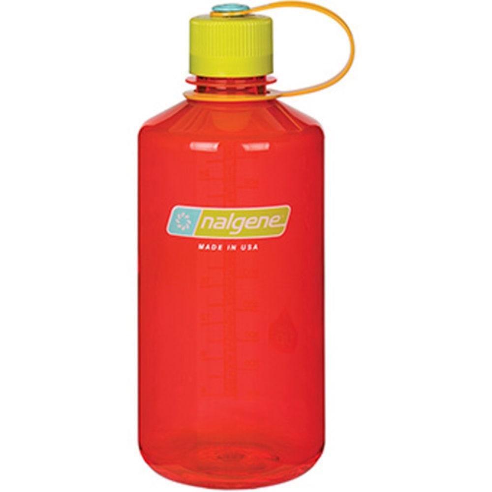 NALGENE Everyday Narrow Mouth Water Bottle, 1 Quart - POMEGRANATE 342027